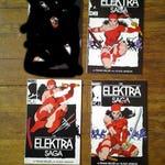 RESERVED for Dom Castro: The Elektra Saga; Vol 1, 2 through 4, Copper Age Comic Books. NM-.  1984