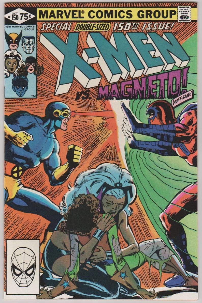 Uncanny X-Men Vol 1 150 Bronze Age Comic Book.  NM 9.4. image 0