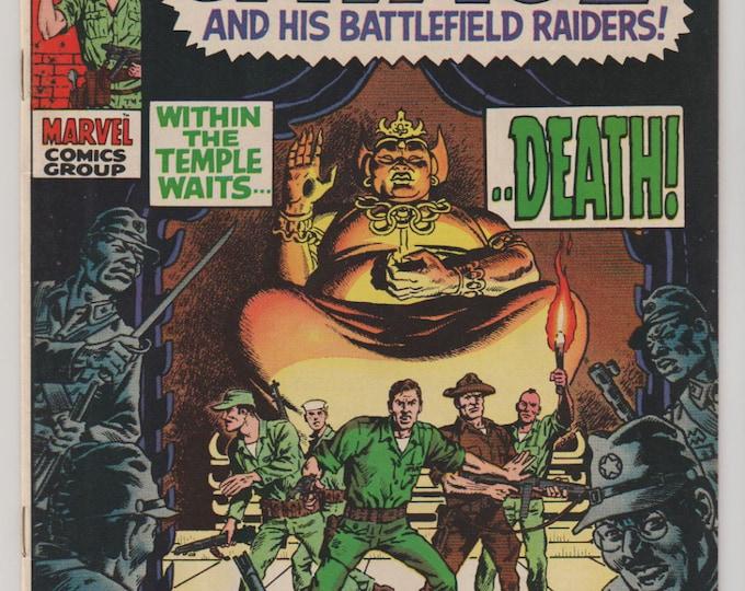 Captain Savage; Vol 1, 15 Silver Age Comic Book. VF (8.0). Jun 1969. Marvel Comics