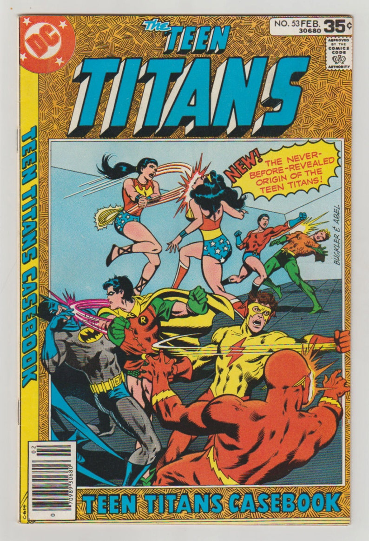 Teen Titans Vol 1 53 Bronze Age Comic Book.  VF/NM 9.0. image 0