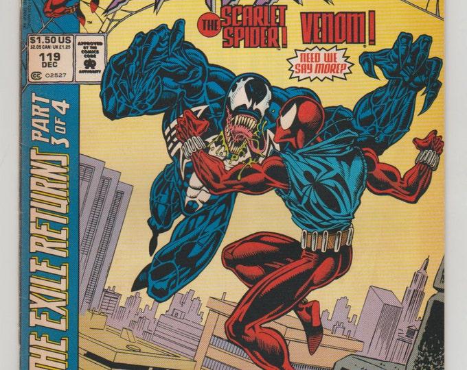 Web of Spider-Man; Vol 1, 119 Modern Age Comic Book.  VF/NM (9.0).  December 1994.  Marvel Comics