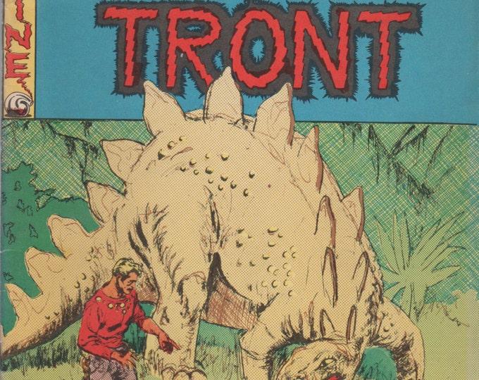 Squa Tront; Vol 1, 2 Silver Age Comic Book Magazine 2nd Printing.  FN/VF (7.0).  Sept 1968.   Entertaining Fanzines