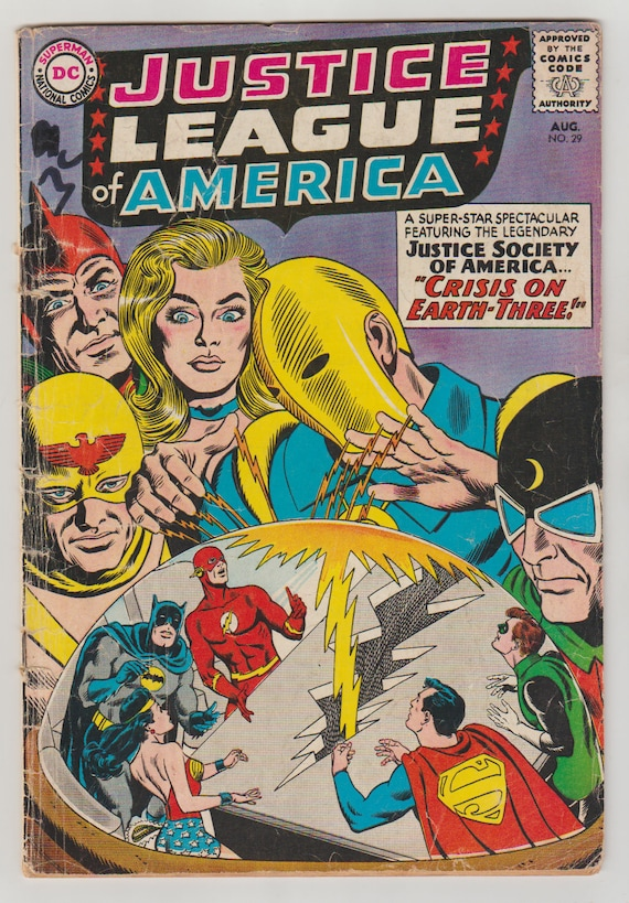 Justice League of America Wedding Special #1  Dc Comic Book