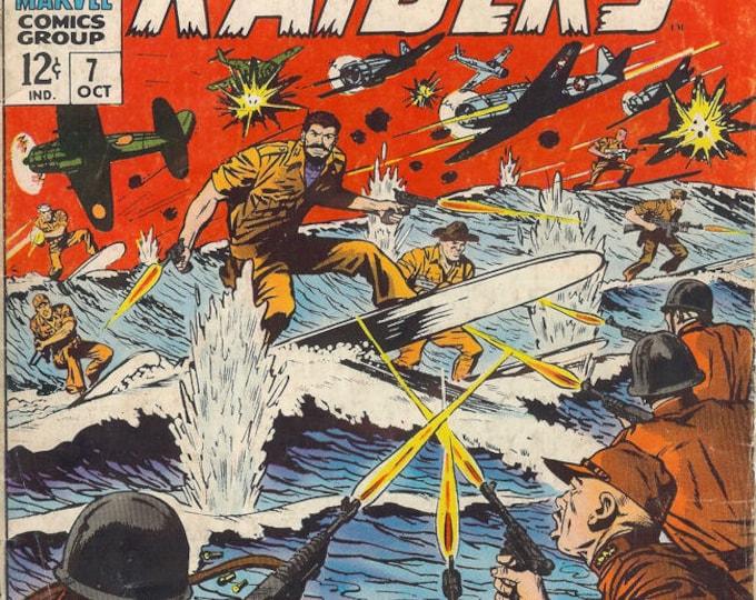 Captain Savage; Vol 1, 7 Silver Age Comic Book. FN- (5.5). Oct 1966.   Marvel Comics