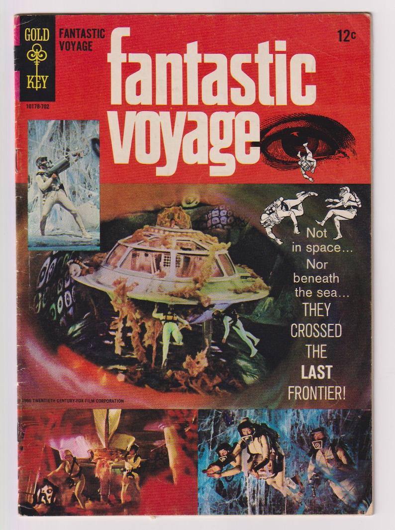 Fantastic Voyage Vol 1 1 Silver Age Movie Comic. VG 4.0. image 0