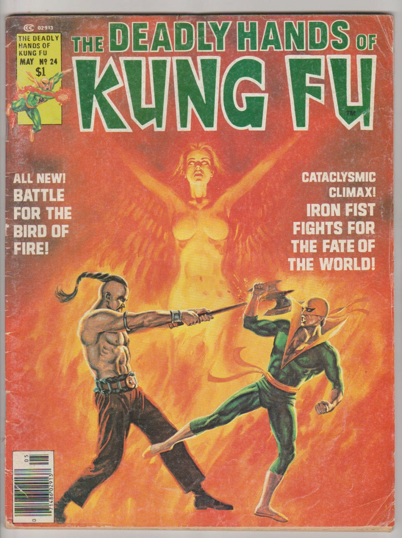Deadly Hands of Kung Fu Vol 1 24 Bronze Age Comic Book. FN image 0