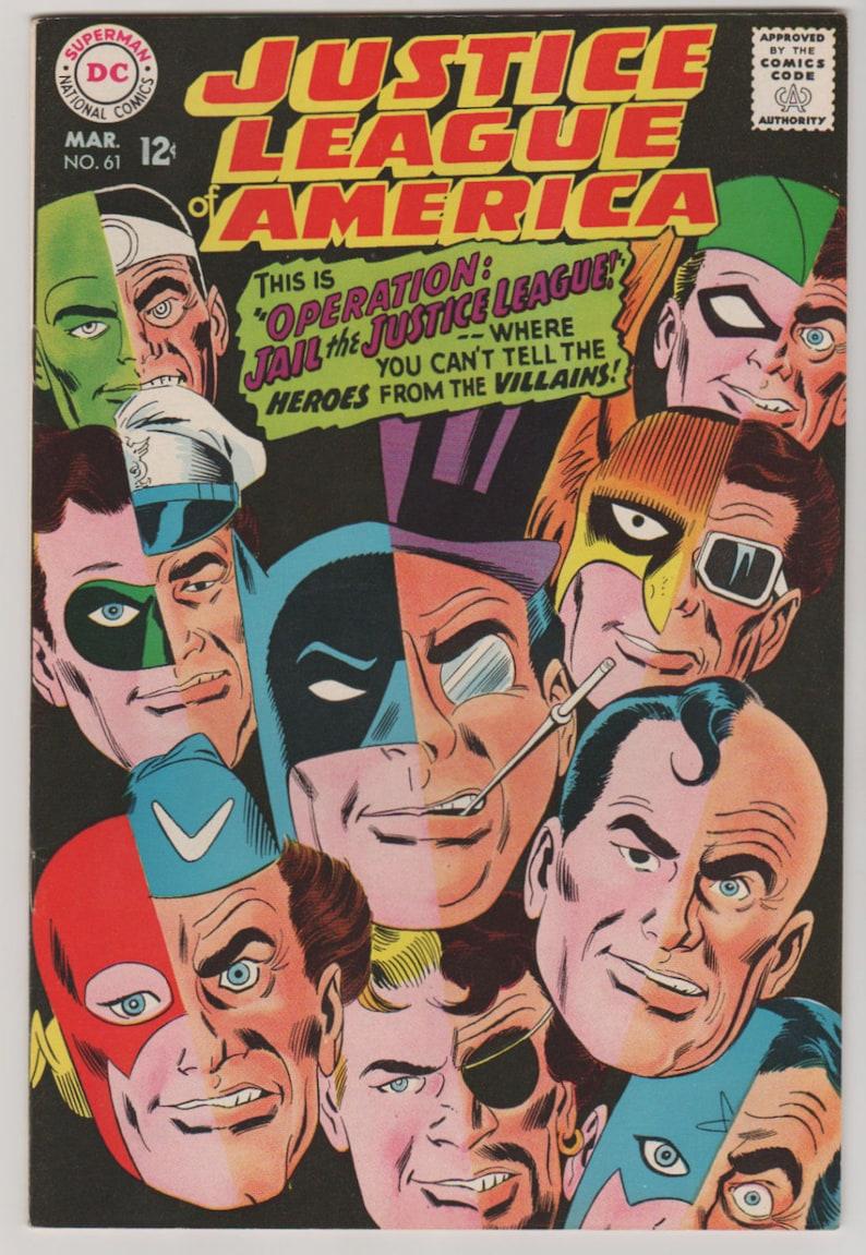 Justice League of America V1 61. Silver Age Comic Book. VF image 0