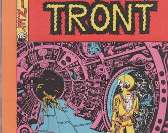 Squa Tront; Vol 1, 1 Silver Age Comic Book Magazine 2nd Printing.  NM- (9.2).  Sept 1967.   Entertaining Fanzines