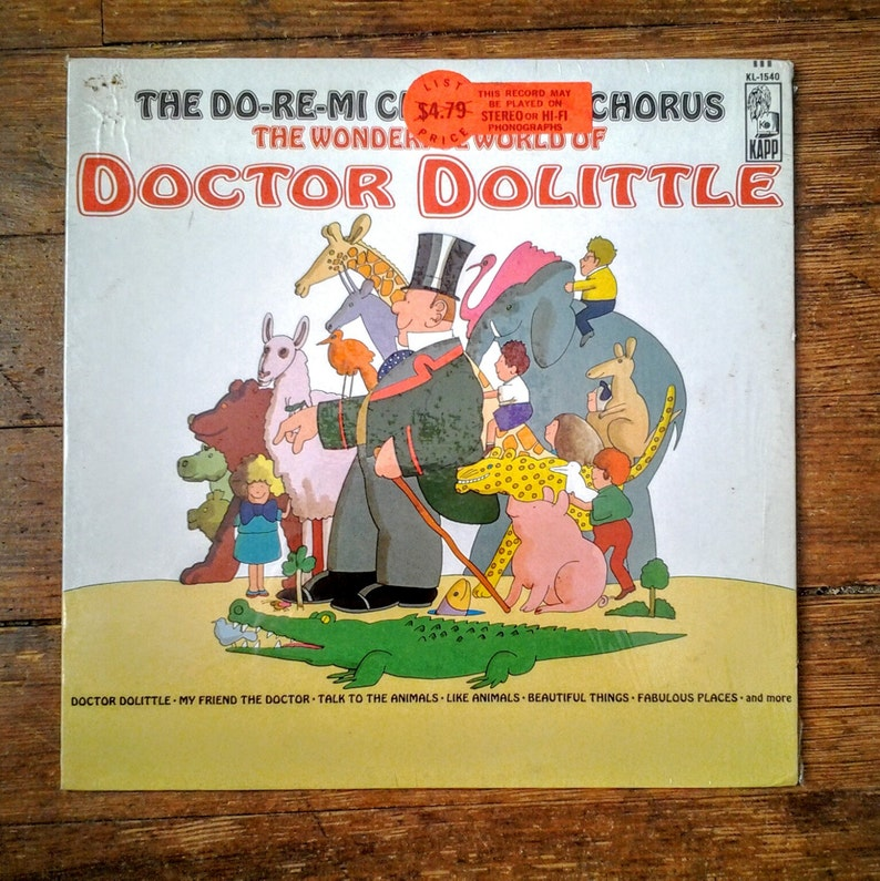 1971 The Wonderful World of Doctor Dolittle The Do-Re-Mi image 0