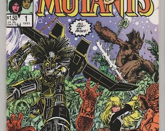 New Mutants Special Edition; Vol 1, 1 Copper Age Comic Book.  NM+ (9.6).  1985.  Marvel Comics