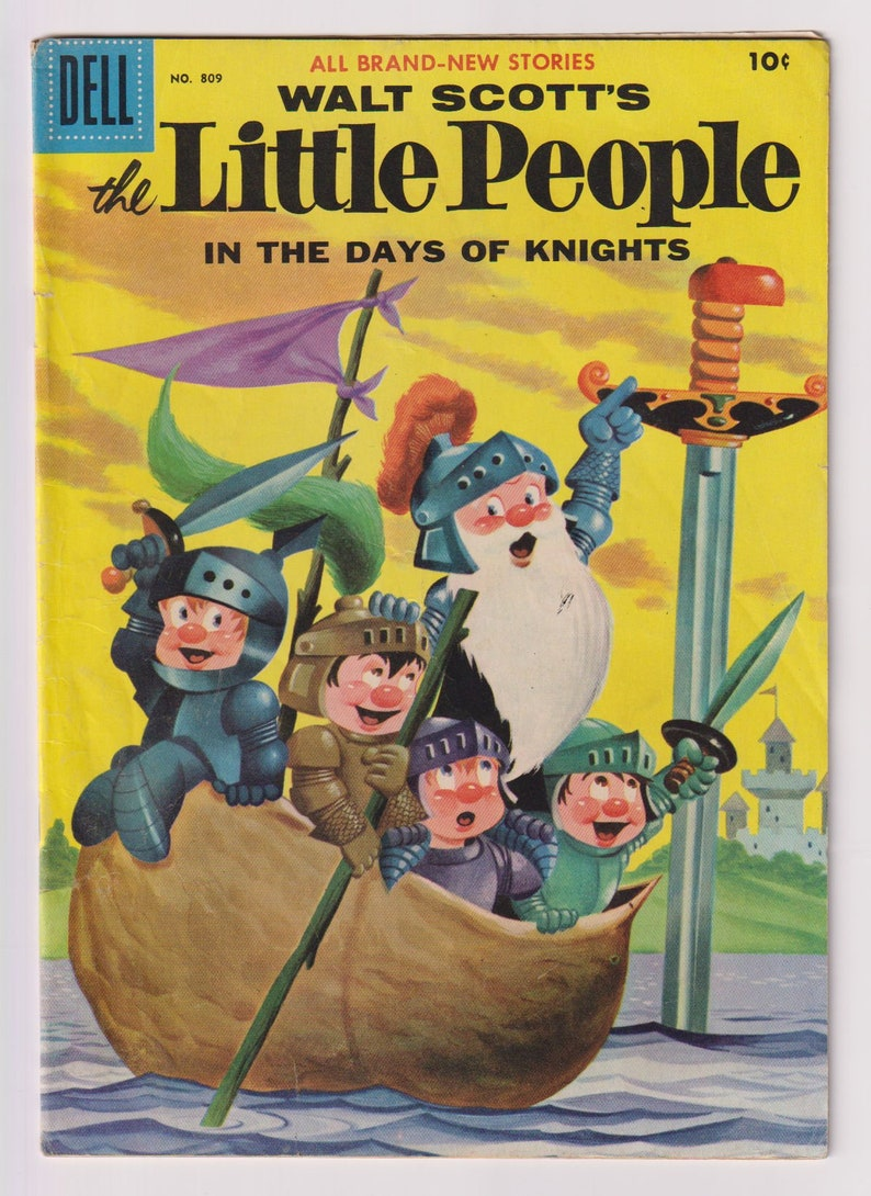 Four Color Comics Walt Scott's Little People Vol 2 image 0