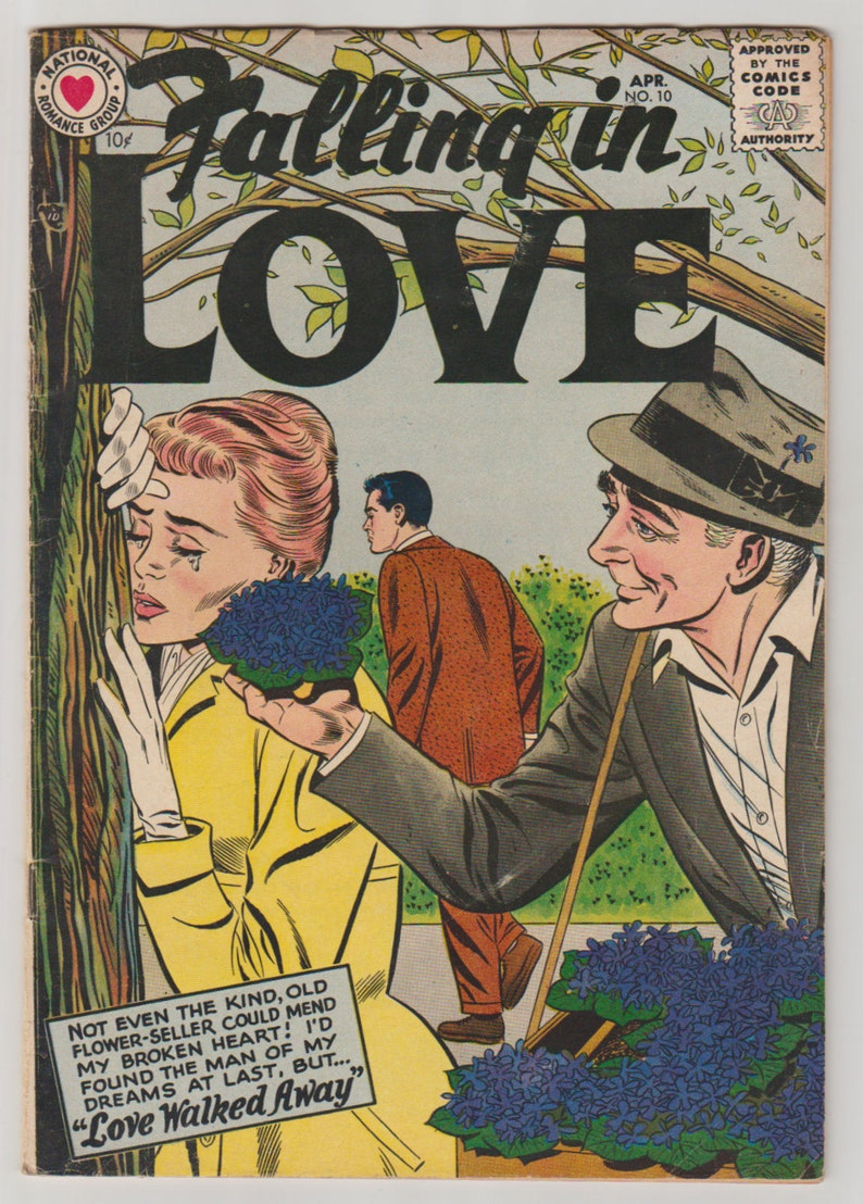Falling In Love Vol 1 10 Silver Age Romance Comic Book. image 0