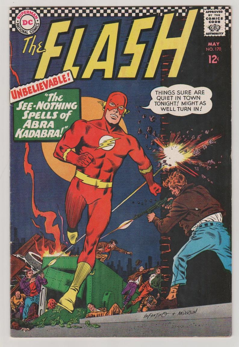 Flash Vol 1 170 Silver Age Comic Book  VF 7.5. May 1967. image 0