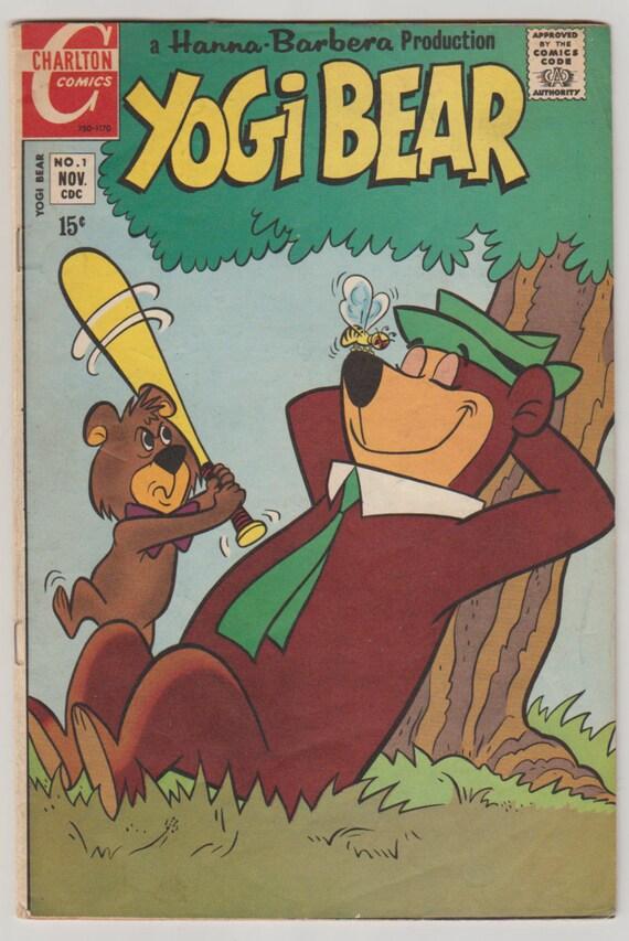 Orso yoghi vol 2 1 libro di fumetti delletà del etsy