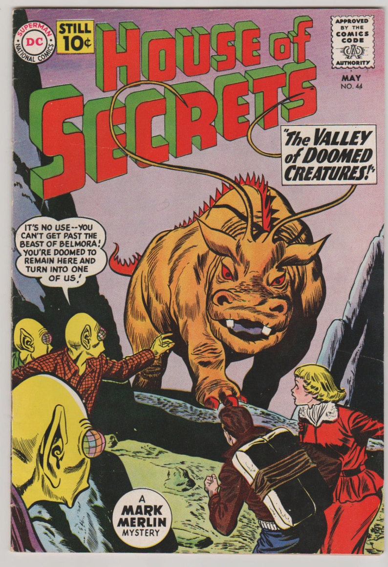 House of Secrets Vol 1 44 Silver Age Comic Book.  FN/VF image 0