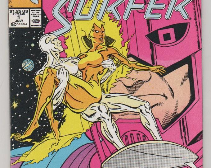 Silver Surfer, Vol 2, 1, Copper Age  Comic Book.  VF/NM (9.0).  Jul 1987.  Marvel Comics