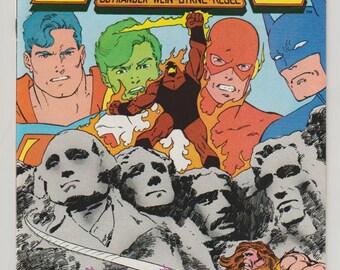 Legends; Vol 1, 3 Copper Age Comic Book.  NM- (9.2).  January 1987.  DC Comics