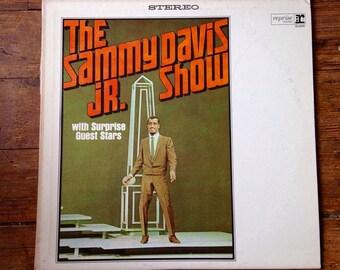 1965 The Sammy Davis Jr. Show with Surprise Guest Stars (Frank Sinatra, Dean Martin), Sammy Davis Jr Record Album RS-6188. VG+/NM. Reprise.