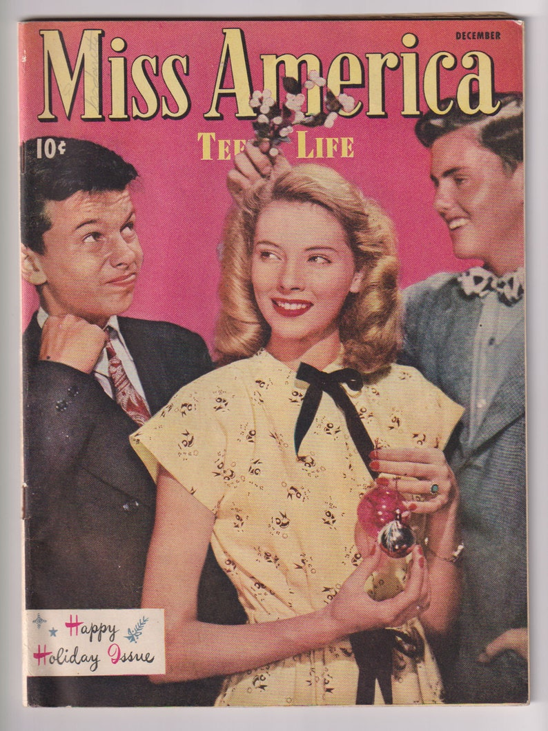 Miss America Magazine Vol 5 2 26. Golden Age Teen image 0