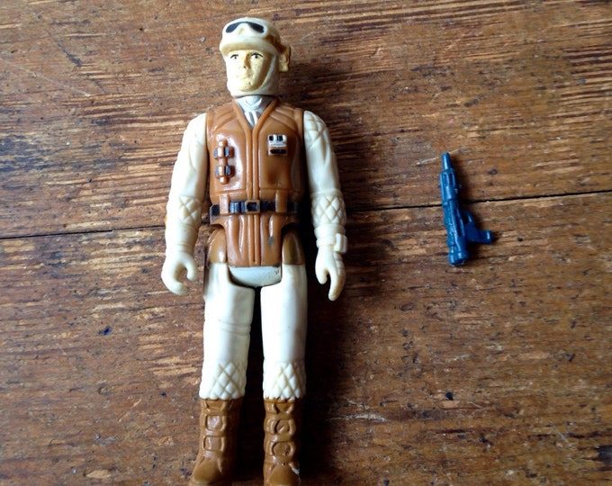 1980 Rebel Soldier (Hoth Battle Gear), Star Wars: Empire Strikes Back Action Figure.  Loose. Kenner