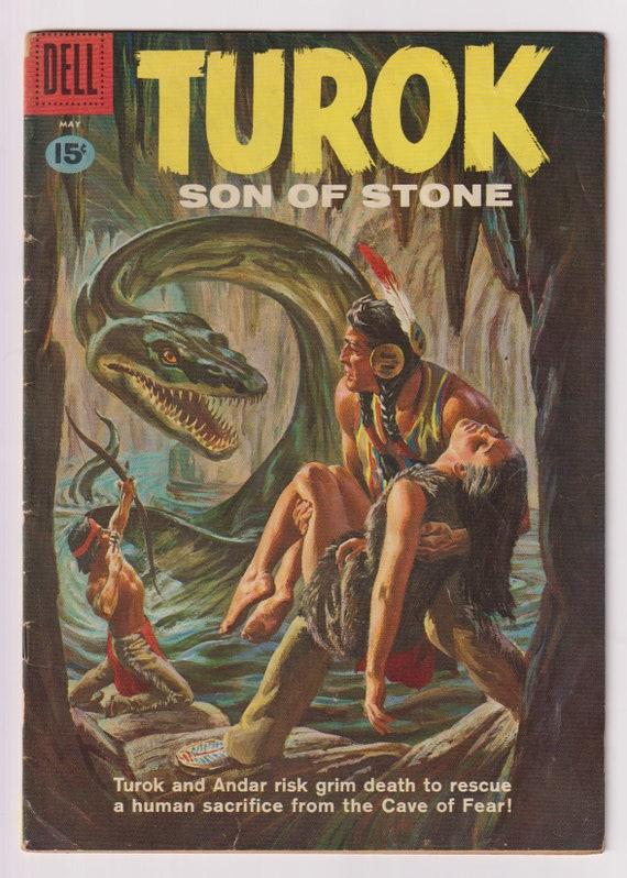 Turok Son Of Stone Vol 1 23 Silver Age Comic Book Vg Etsy