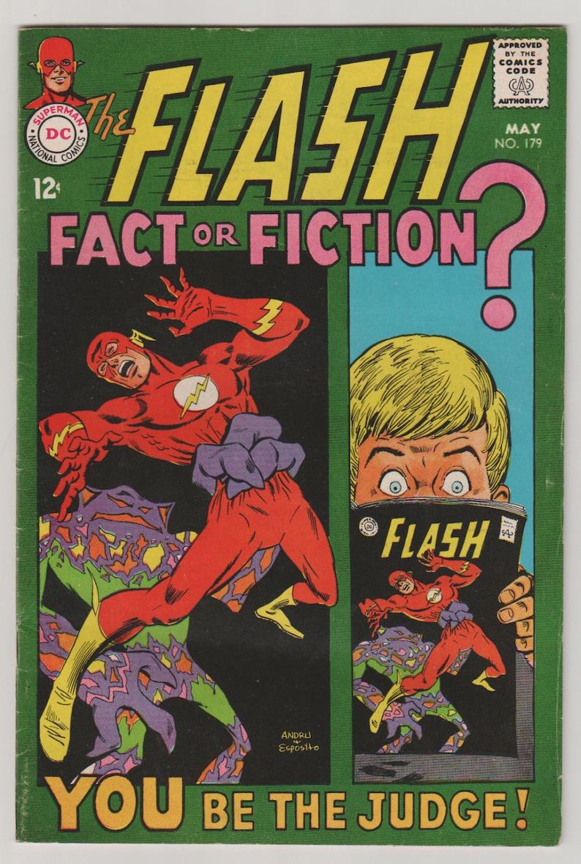 Flash Vol 1 179 Silver Age Comic Book.  FN/VF 7.0. May image 0