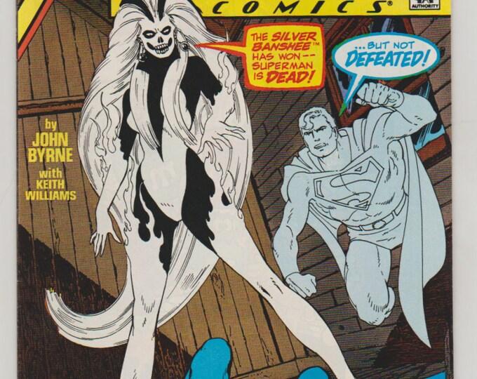Action Comics; Vol 1, 595, Copper Age Comic Book.  NM- (9.2). December 1987.  DC Comics