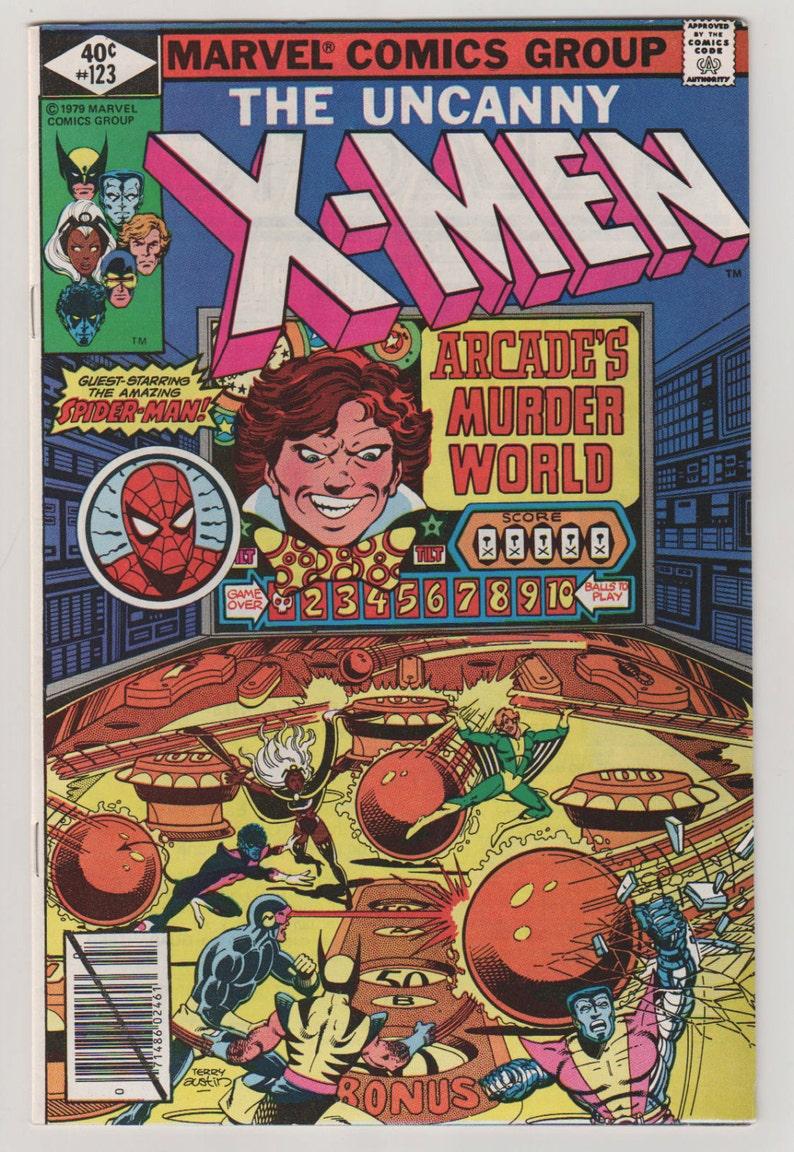 Uncanny X-Men Vol 1 123 Bronze Age Comic Book.  VF 8.0. image 0