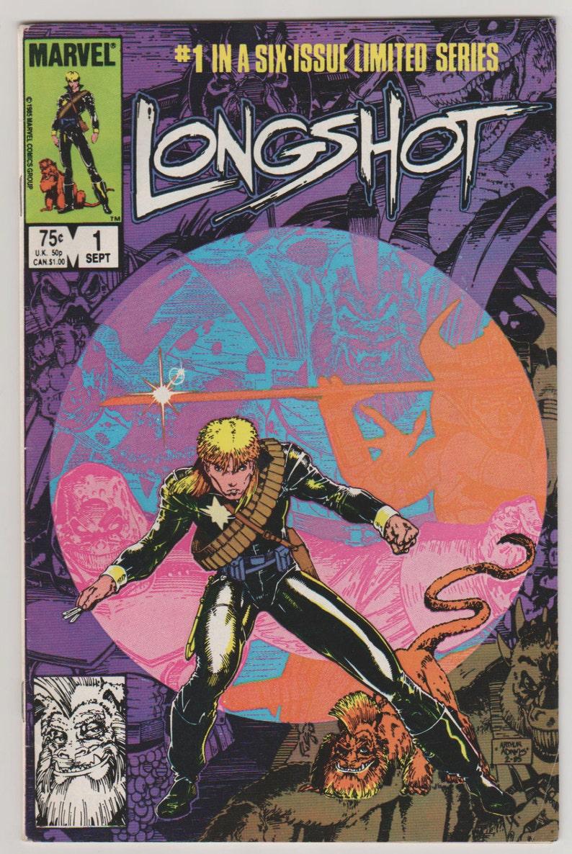 Longshot Vol 1 1 Copper Age Comic Book.  VF 8.0. image 0