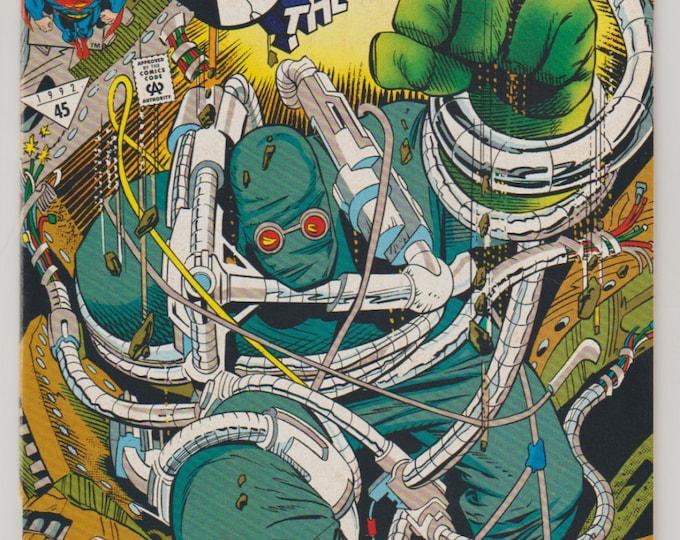 Superman: The Man of Steel; Vol 1, 18  Second Printing, Modern Age Comic Book.  NM (9.4). December 1992.  DC Comics