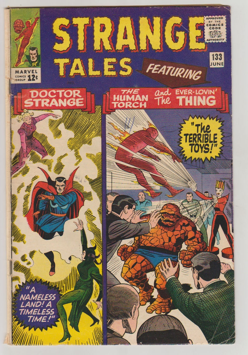 Strange Tales Vol 1 133 Silver Age Comic Book. VG 4.0. image 0