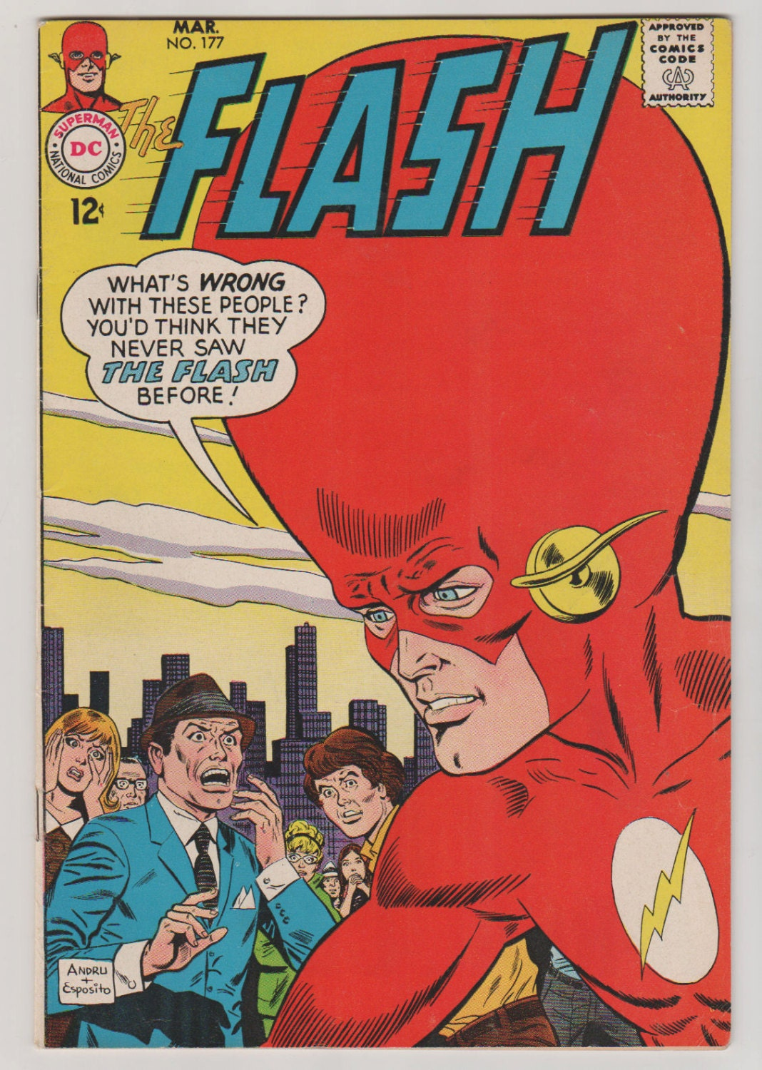 Flash Vol 1 177 Silver Age Comic Book. VF 8.0. March | Etsy