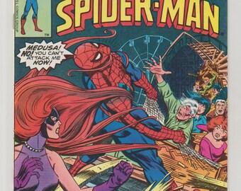 Spectacular Spider-Man; Vol 1, 11, Bronze Comic Book.  VF (8.0). October 1977.  Marvel Comics