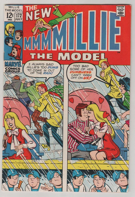 Millie the Model Vol 1 172 Silver Age Romance Comic Book. image 0