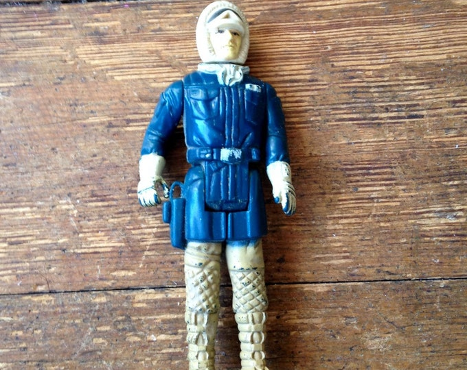 1980 Han Solo (Hoth Outfit) Star Wars: Empire Strikes Back Action Figure. Loose Kenner