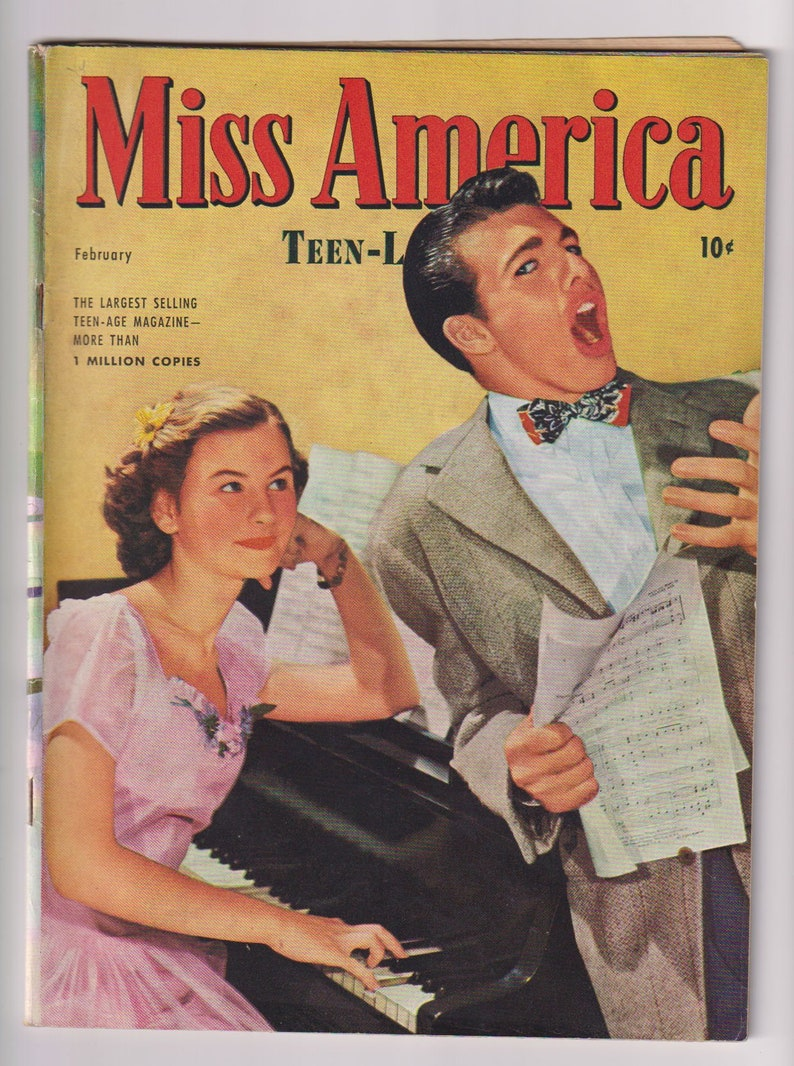 Miss America Magazine Vol 3 4 16. Golden Age Teen image 0