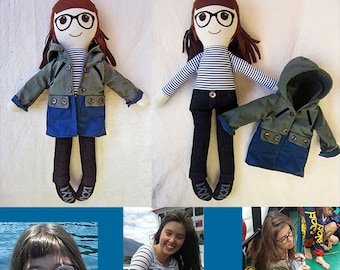 Made to Order Personalized Doll, personalized girls, gifts for kids, gifts for all, for kids, personalized doll, personalized rag doll