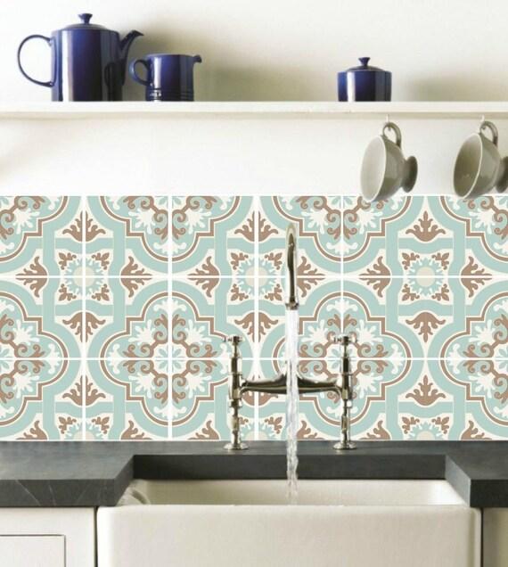 Fliesenaufkleber marokko for Fliesenaufkleber kuche