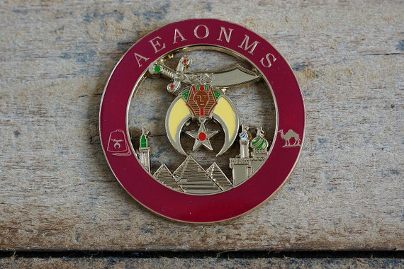 Square /& Compass Copper Finish Masonic Auto Emblem 3 Tall The Masonic Exchange TME-EMB-00024-M