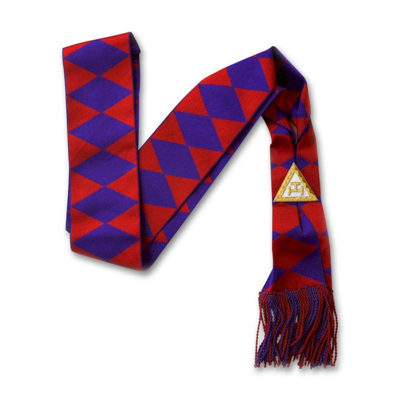 TME-REG-S-00004 Royal Arch Member Masonic Sash