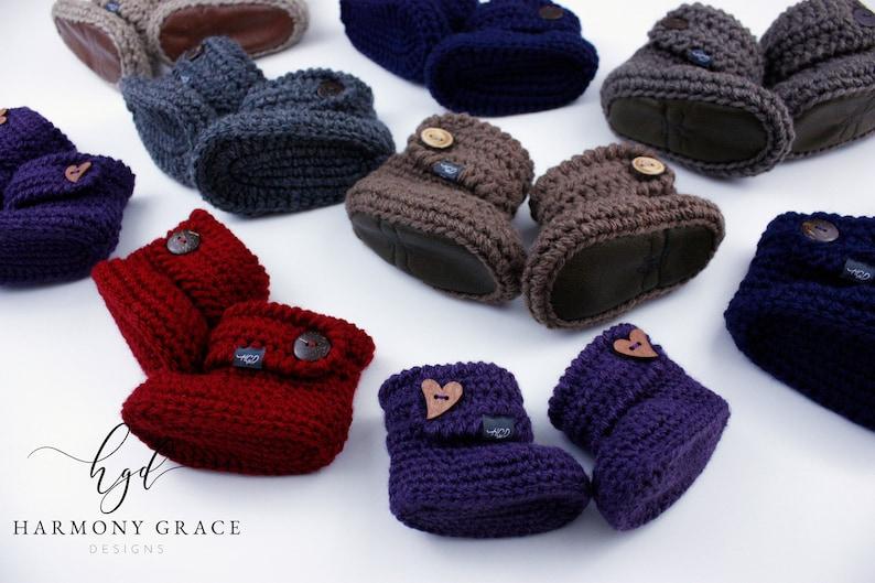 bda184d8711c4 Baby Booties Infant Shoes Crochet Baby Shoes Knit Baby Booties Infant  Slippers Mukluks Baby Slippers Baby Gift Pregnancy Gift Shower Gift