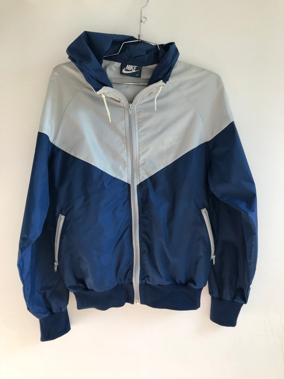 961988d794 Vintage 80s Nike Windbreaker    Dark Blue Tag Nike Jacket