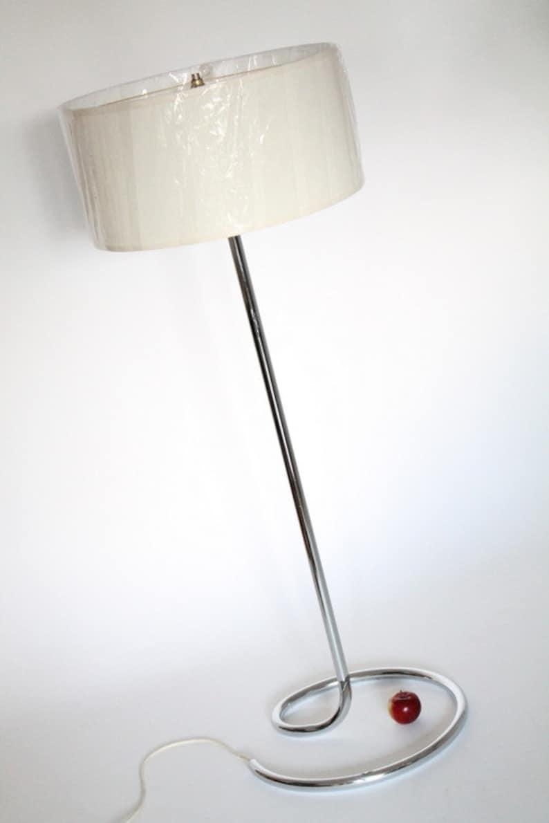 Sol Siècle Mi Usa Chromé Époque Des In Vintage Lampe 1970 Made 8nO0wkP
