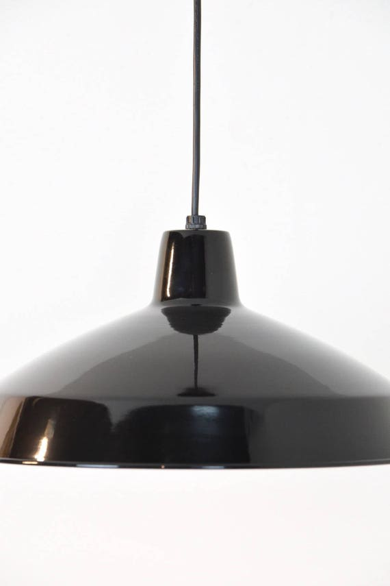 barn ceiling light vintage barn 50 black barn light pendant industrial etsy