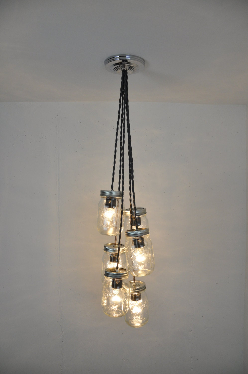 Mason Jar Pendant Light Mason Jar Chandelier Jar