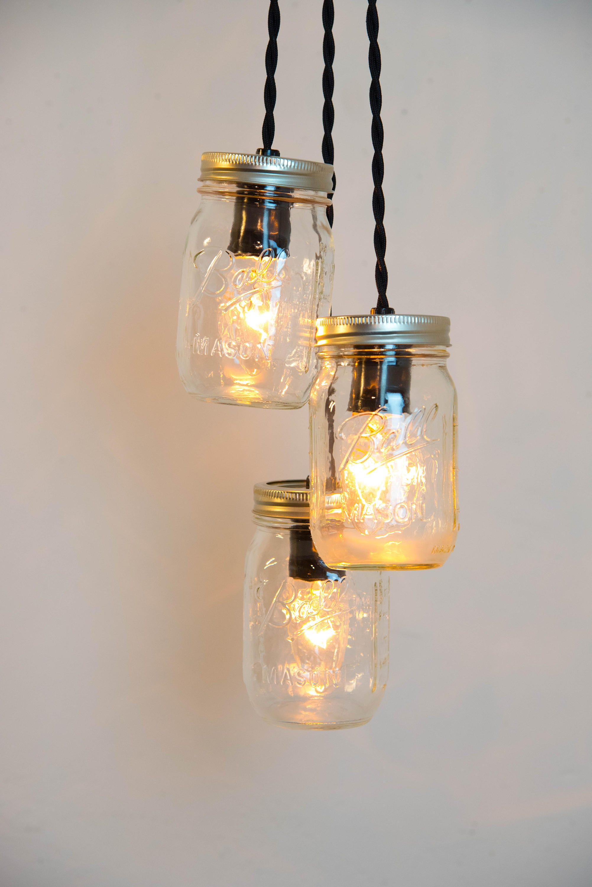 Mason Jar Chandelier Mason Jar Pendant Light Mason Jar