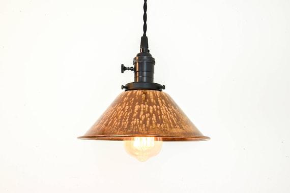 Copper Pendant Light Copper Lighting Copper Lamp Shade Black Hanging Lights Industrial Lighting Farmhouse Lights Kitchen Light