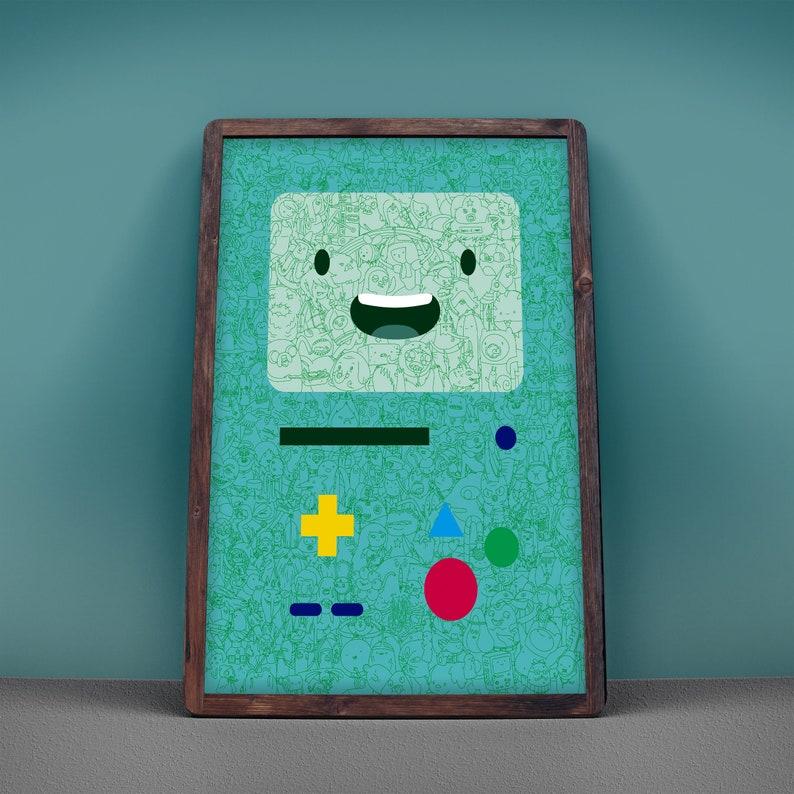 BMO Adventure Time Poster 18x24 Art Print image 0