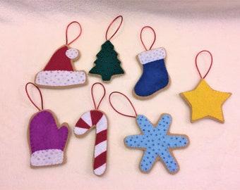 Felt Christmas Cookies, Felt Food, Pretend Play, Play Food