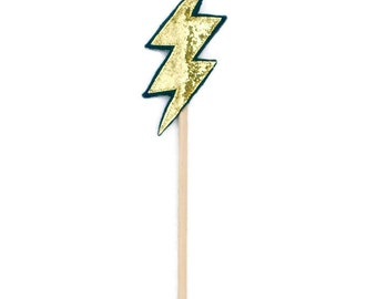 Lightning Bolt Wand - Magic wand  - Boys party favour - Boy birthday gift - boy gifts under 10 - cool gift boy - fun gift -trendy boy gift